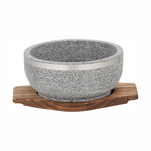 石碗(配木垫)-5RYW-1206