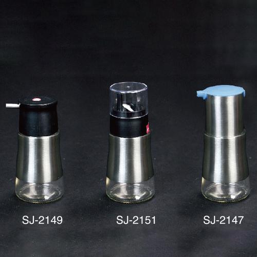 304不锈钢玻璃油壶-SJ-2147/SJ-2149/SJ-2151