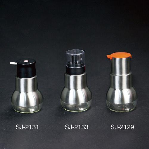 304不锈钢玻璃油壶-SJ-2129/SJ-2129/SJ-2133
