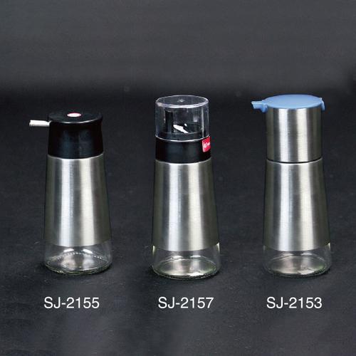 304不锈钢玻璃油壶-SJ-2153/SJ-2155/SJ-2157