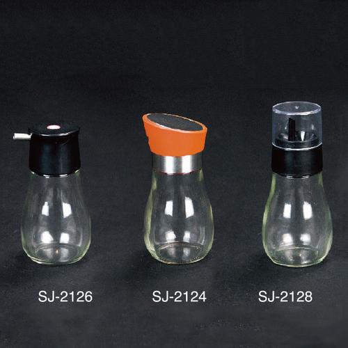 304不锈钢玻璃油壶-SJ-2124/SJ-2126/SJ-2126