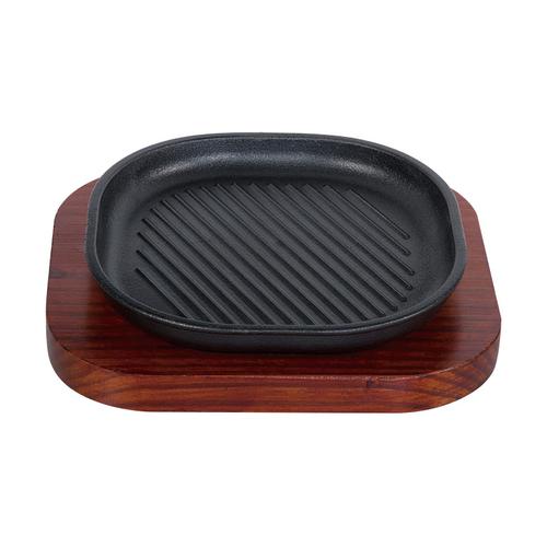 美洲煎盘 配 红板-MZJP -HM