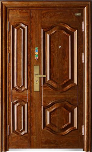 9CM甲级安全门-Z9-6圆欧二子母门