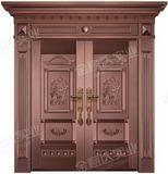 精雕铜门 -JYD-T-830千秋万代
