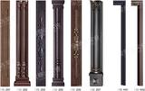 铸铝门可选门柱 -铸铝门可选门柱-01