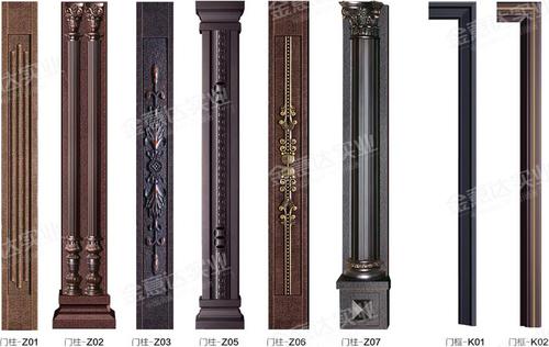 铸铝门可选门柱-铸铝门可选门柱-01