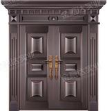 精雕铜门 -JYD-T-833顶天立地