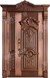 精雕铜门 -JYD-T-858皇室贵族