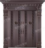 精雕铜门 -JYD-T-805浩然正气