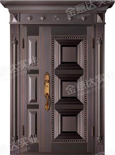 精雕铜门-JYD-T-861正太安和