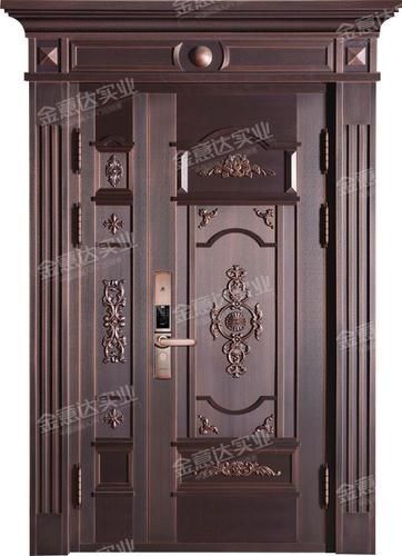 精雕铜门-JYD-T-837春色满园