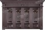 精雕铜门 -JYD-T-826大展宏图