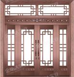 精雕铜门 -JYD-T-890四季如歌