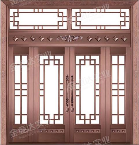 精雕铜门-JYD-T-890四季如歌