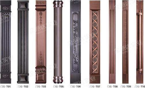 铜门可选门柱-铜门可选门柱-01