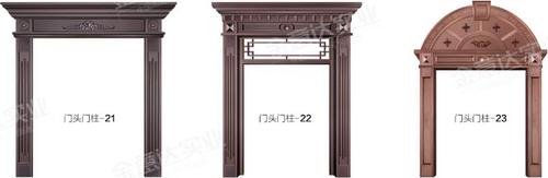 铜门门头门柱-铜门门头门柱-03