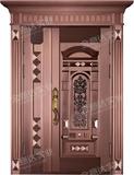 精雕铜门 -JYD-T-838欣欣向荣