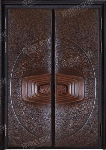 精雕銅門-JYD-T-801紫氣東來