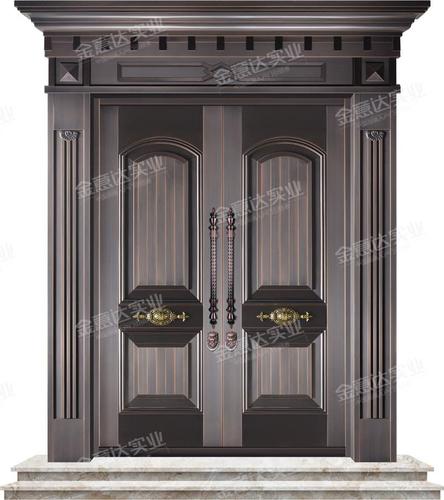 精雕铜门-JYD-T-807金榜题名
