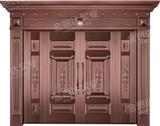 精雕铜门 -JYD-T-826前程似锦