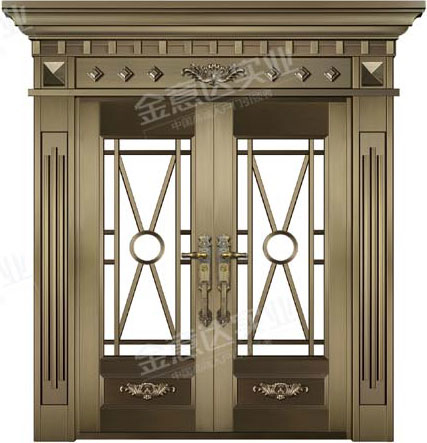 精雕铜门-JYD-T-873如日中天