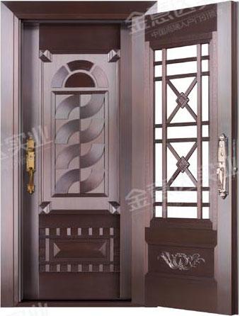 精雕铜门-JYD-T-886风和日丽