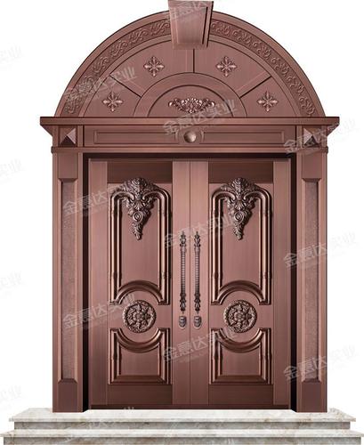 精雕铜门-JYD-T-820珠光宝气
