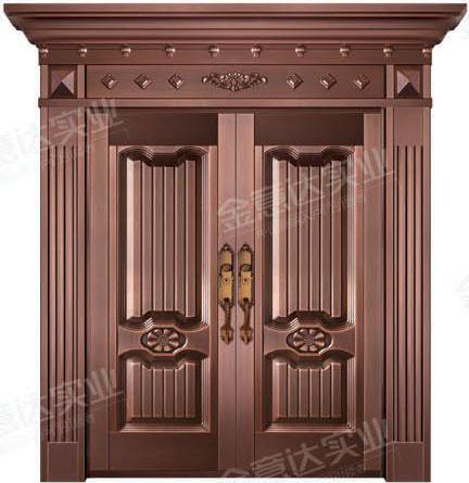 精雕铜门-JYD-T-832和枫雅居