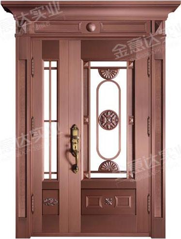精雕铜门-JYD-T-882尚品嘉园