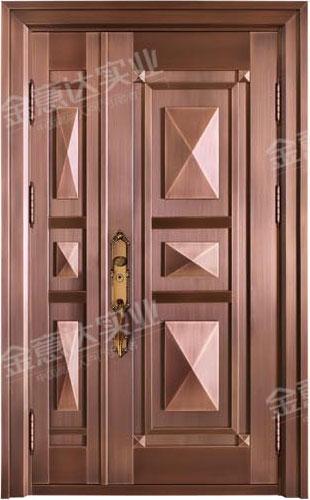 精雕铜门-JYD-T-862盛世奇景