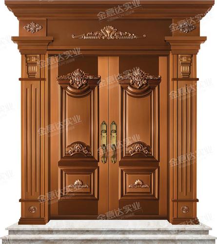 精雕銅門-JYD-T-818貴府莊園