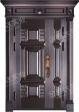 精雕铜门 -JYD-T-853步步高升