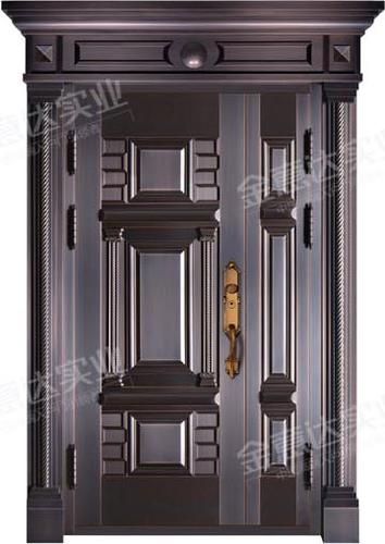 精雕铜门-JYD-T-853步步高升