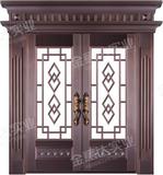 精雕铜门 -JYD-T-879百世华府