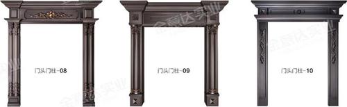 铸铝门门头门柱-铸铝门门头门柱-03