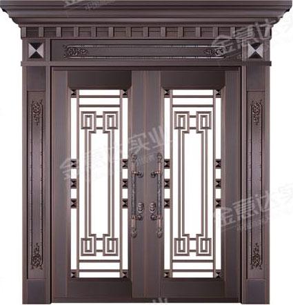 精雕铜门-JYD-T-872盛世华庭