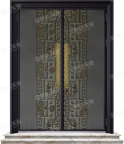 装甲铸铝门-JYD-Z-112龙韵