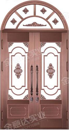 精雕铜门-JYD-T-875春回大地