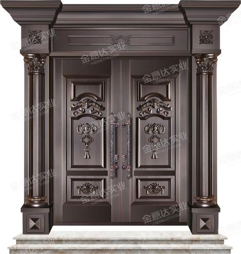 精雕铜门-JYD-T-812豪门世家