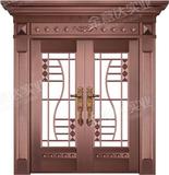 精雕铜门 -JYD-T-878千姿百态