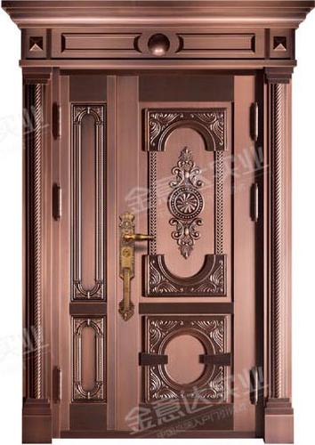 精雕铜门-JYD-T-855贵族世家