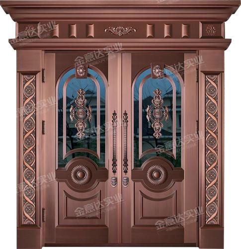 精雕銅門-JYD-T-871東方明珠