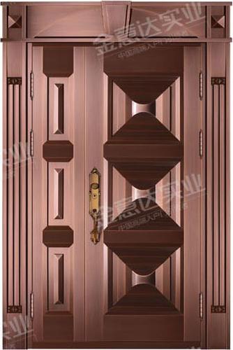 精雕铜门-JYD-T-852龙庭一品