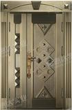 精雕铜门 -JYD-T-857天之骄子