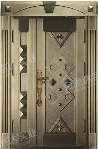 精雕铜门-JYD-T-857天之骄子