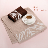 豹纹竹纤维套巾 -2513-140