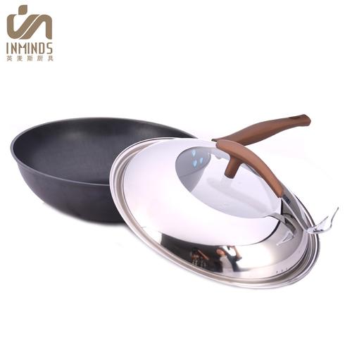金禧仕传统精铁锅-