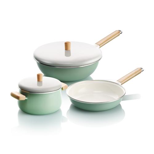 稻丰瓷釉不锈全能锅-KSDF-3PC