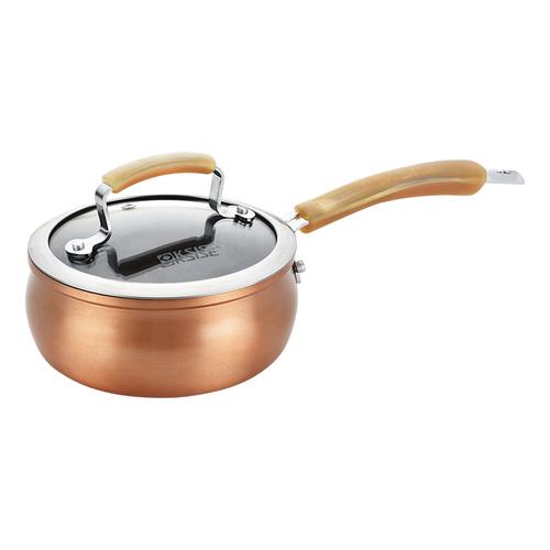 古铜经典奶锅-
