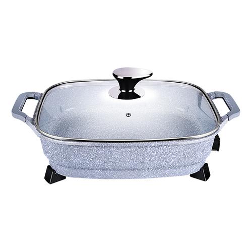 合家欢麦饭石电热锅-